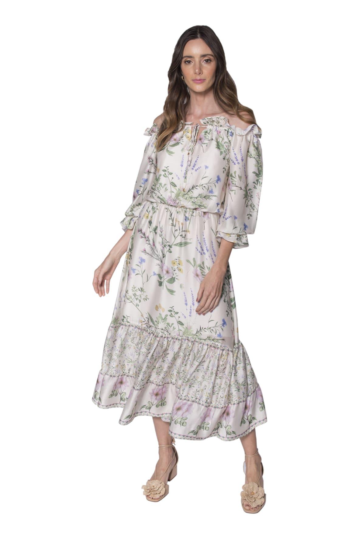 Tee Match - vestido gipsy botanic